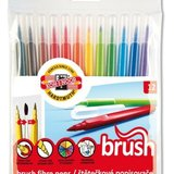 Set carioca PAINT BRUSH, 12 bucati